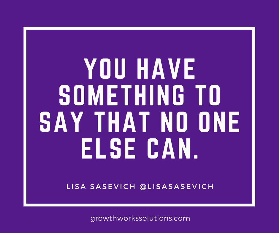 lisa sasevich sales quote