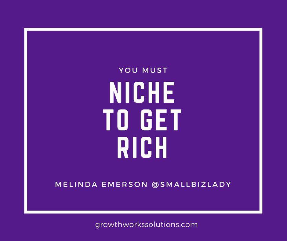 melinda emerson small biz lady sales quote